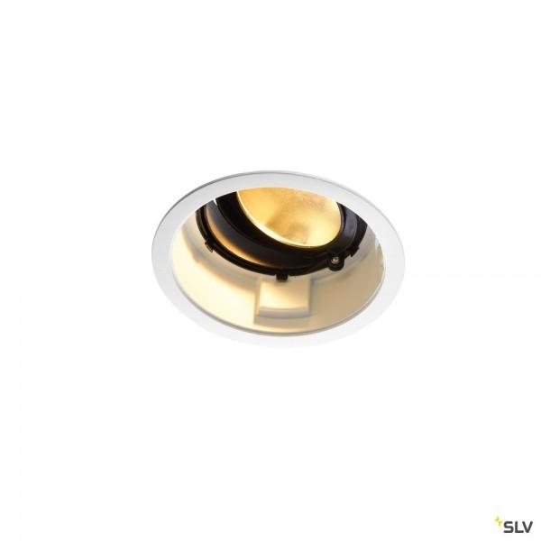 SLV 1001848 Renisto, Deckeneinbauleuchte, weiß, dimmbar C, LED, 29W, 3000K, 2500lm