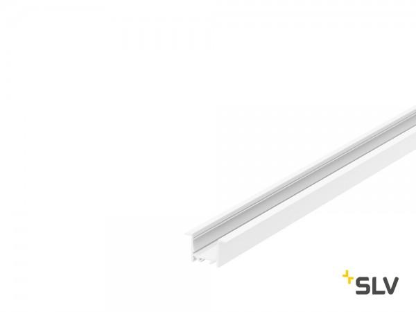 SLV 1000491 Grazia 20, Einbauprofil, weiß, B/H/L 5,2x3,2x100cm, LED Strip max.B.2cm