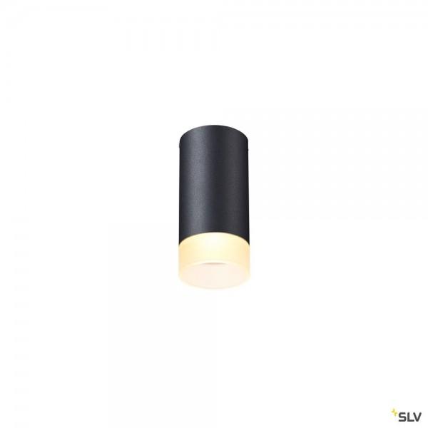 SLV 1002936 Astina, Deckenleuchte, schwarz, QPAR51, GU10, max.10W