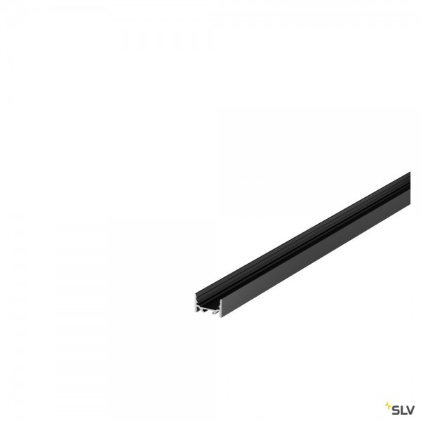 SLV 1000528 Grazia 3522, Aufbauprofil, schwarz, B/H/L 3,5x2,2x100cm, LED Strip max.B.1cm
