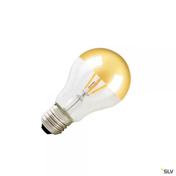 SLV 1003098 Spiegelkopflampe, gold, E27, Dim to Warm C, LED, 4W, 2000K-2900K, 200lm