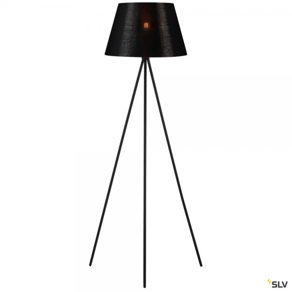 SLV 155490 + 156192 Fenda, Stehleuchte, schwarz/kupfer, Ø45,5cm, E27, max.40W