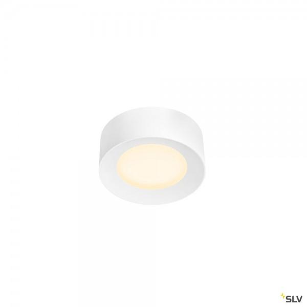 SLV 1002967 Ferra 25, Deckenleuchte, weiß, dimmbar Dali, LED, 19,5W, 3000K/4000K, 1650lm