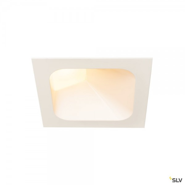 SLV 1000796 Verlux, Deckeneinbauleuchte, weiß, dimmbar Triac C+L, LED, 16W, 3000K, 1370lm