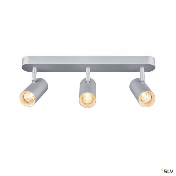 SLV 1002978 Noblo III, Strahler, silbergrau, dimmbar Triac C+L, LED, 24W, 2700K, 1800lm