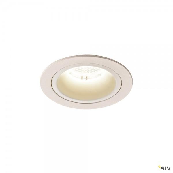 SLV 1003908 Numinos M, Deckeneinbauleuchte, weiß, LED, 17,55W, 4000K, 1750lm, 55°