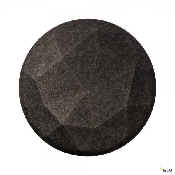 SLV 1004663 Mana, Filzleuchtenschirm, grau, 60cm