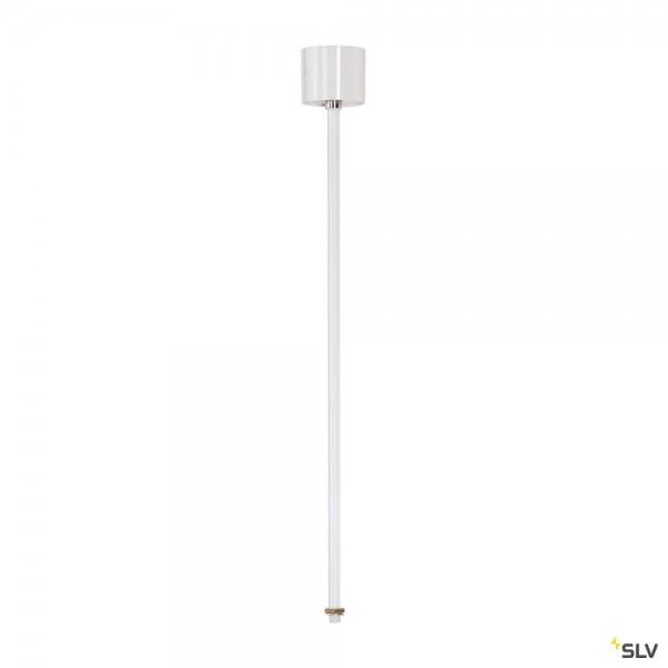 SLV 1001529 3Phasen, Eutrac, Aufbauschiene, Pendelabhängung, starr, 60cm, weiß