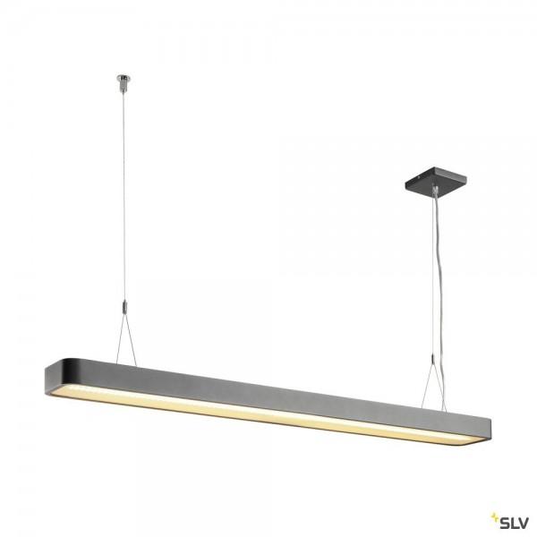 SLV 1002839 Worklight, Pendelleuchte, anthrazit, dimmbar Dali, LED, 49W, 3000K, 5400lm