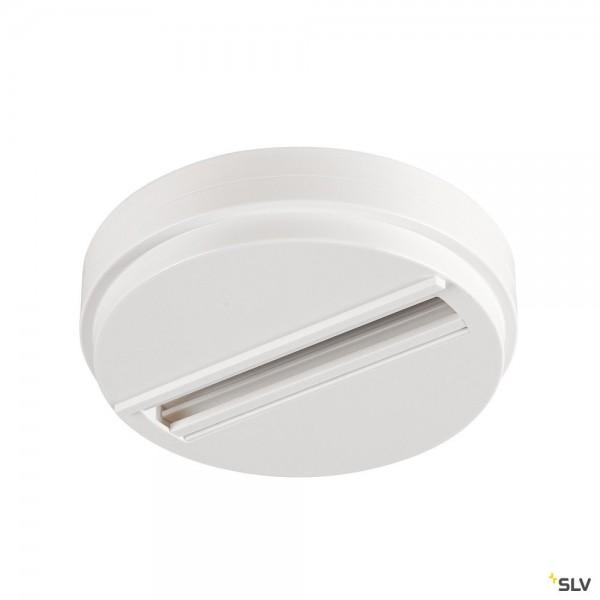 SLV 1004685 3Phasen, S-Track Dali, Aufbauschiene, Deckenrosette, weiß