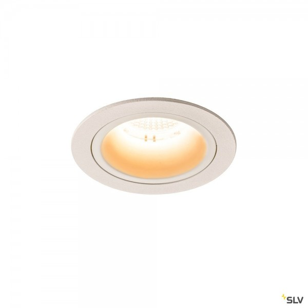 SLV 1003854 Numinos M, Deckeneinbauleuchte, weiß, LED, 17,55W, 2700K, 1600lm, 20°