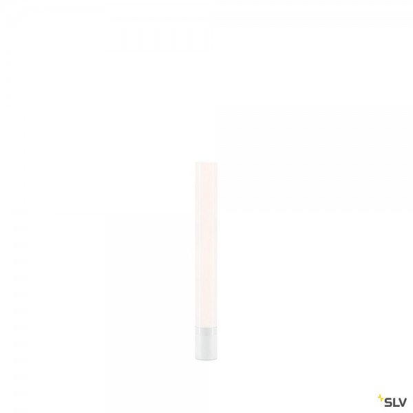 SLV 234411 Light Pipe, Leuchtenkopf, weiß, IP55, dimmbar Triac C+L, LED, 11W, 2700K, 630lm
