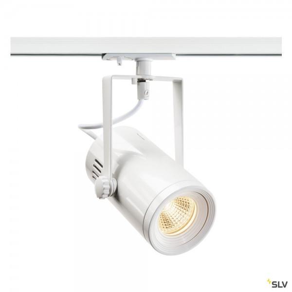 SLV 1001486 Euro Spot, 1Phasen, Strahler, weiß, LED, 11W, 3000K, 650lm