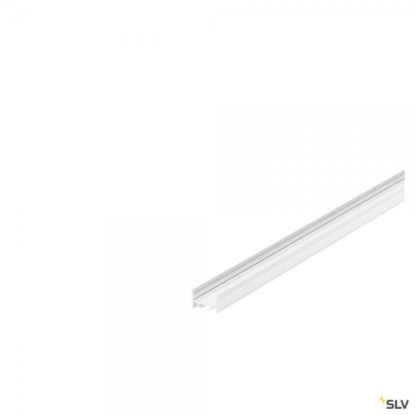 SLV 1000500 Grazia 3522, Aufbauprofil, weiß, B/H/L 3,5x2,2x100cm, LED Strip max.B.1cm