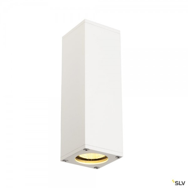 SLV 1000327 Theo, Wandleuchte, weiß, up&down, QPAR51, GU10, max.2x50W
