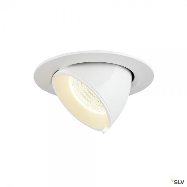 SLV 1002885 Gimble In 68, Deckeneinbauleuchte, weiß, LED, 6W, 4000K, 560lm