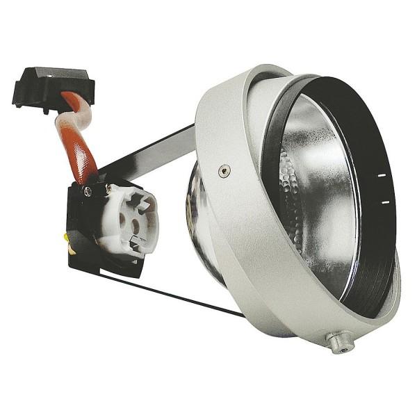 SLV 115044 G12 Modul, Aixlight® Pro, silbergrau, max.70W, 24°