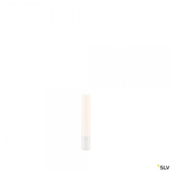 SLV 234401 Light Pipe, Leuchtenkopf, weiß, IP55, dimmbar Triac C+L, LED, 11W, 2700K, 630lm