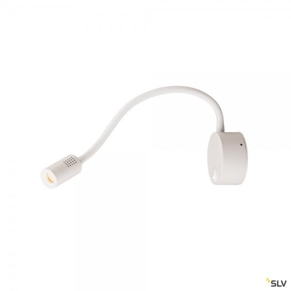 SLV 1002118 Dio Flex Plate, Displayleuchte, weiß, mit Schalter, LED, 1,9W, 3000K, 82lm
