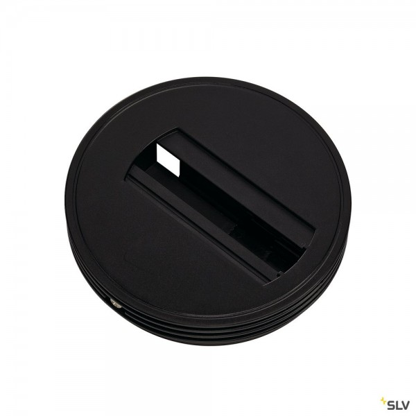 SLV 143380 1 Phasen, Aufbauschiene, Deckenrosette, schwarz