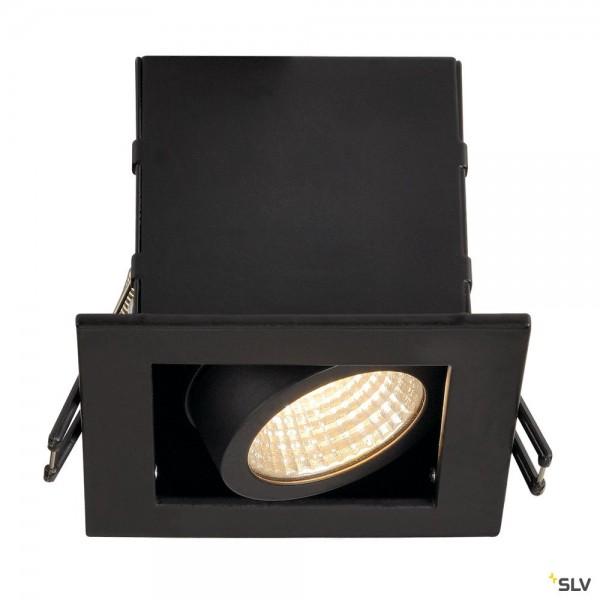 SLV 115700 Kadux 1 Set, Deckeneinbauleuchte, dimmbar Triac C+L, LED, 8,3W, 3000K, 650lm