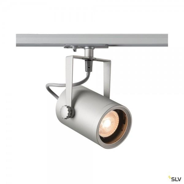 SLV 143814 Euro Spot, 1 Phasen, Strahler, silbergrau, QPAR51, GU10, max.25W