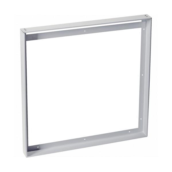 SLV 158774 Aufbaurahmen 62,5x62,5cm, Stahl, silbergrau, LED Panel