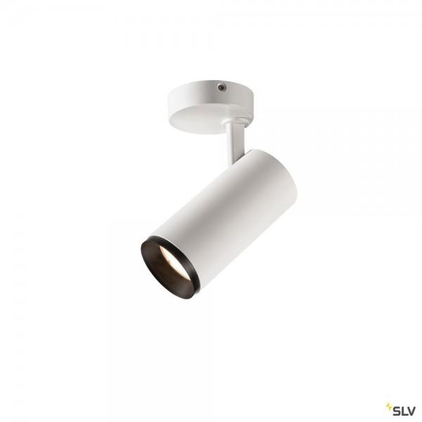 SLV 1004215 Numinos M, Strahler, weiß/schwarz, dimmbar C, LED, 16.5W, 4000K, 2120lm, 36°
