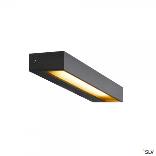 SLV 1002069 Pema, Wandleuchte, anthrazit, IP54, LED, 7,7W, 3000K, 450lm
