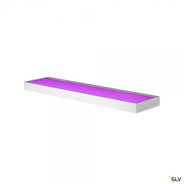SLV 1003022 New Flat, Wandleuchte, weiß, LED, 11,3W, 3000K, 580lm, RGBW