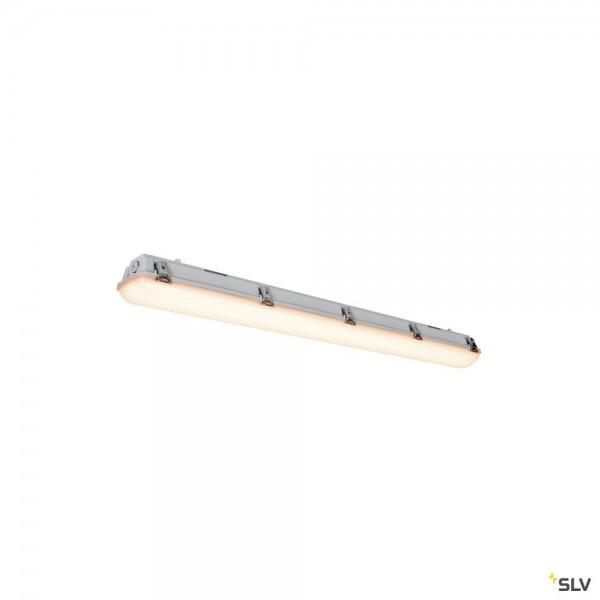SLV 1001314 Imperva 120, Wand- und Deckenleuchte, grau, IP66, LED, 40W, 3000K, 4600lm