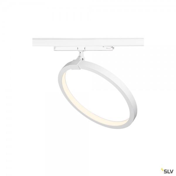 SLV 1004772 One 40 Track, 3Phasen, Leuchte, weiß, dimmbar Dali, LED, 15,2W, 4000K, 670lm