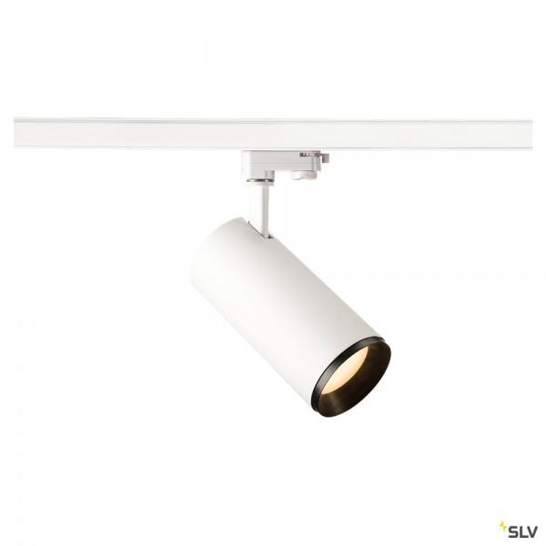 SLV 1004272 Numinos L, 3Phasen, Strahler, weiß/schwarz, dimmbar C, LED, 28W, 2700K, 2475lm, 60°