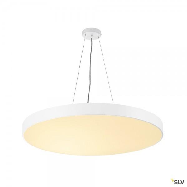 SLV 1001950 + 1001891 Medo 90 Ambient, weiß, 5m, dimmbar Dali, LED, 78W, 3000K/4000K, 10255lm