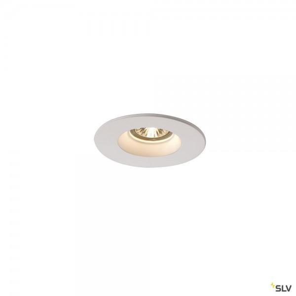 SLV 148070 Plastra, Deckeneinbauleuchte, weiß, QPAR51, GU10, max.35W