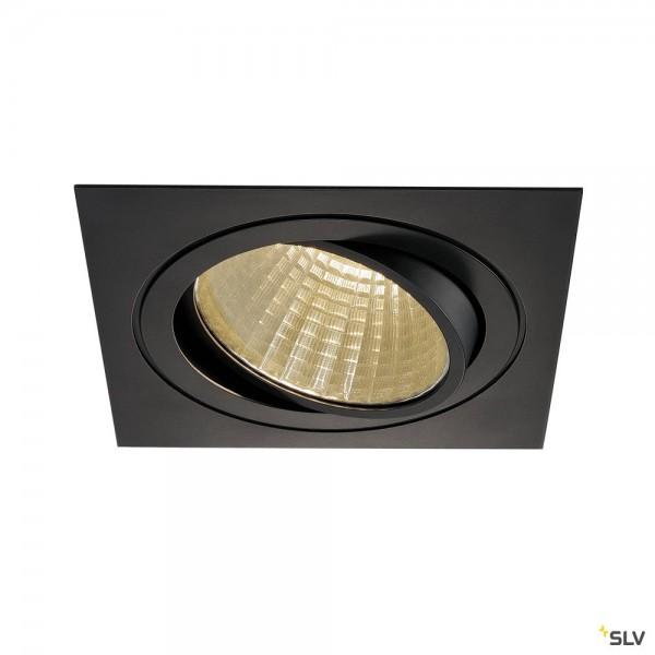 SLV 114290 New Tria 1 Set, Deckeneinbauleuchte, dimmbar 1-10V, LED, 29W, 3000K, 2425lm