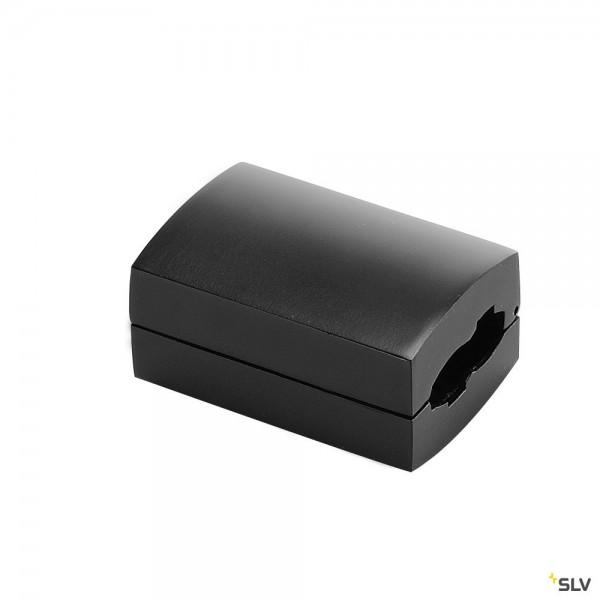 SLV 184030 Easytec II, Längsverbinder, schwarz