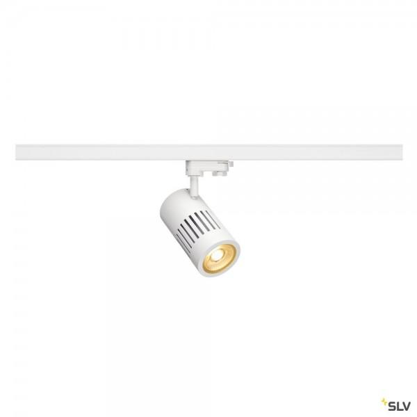 SLV 1000981 Structec, 3Phasen, Strahler, weiß, LED, 28W, 3000K, 2700lm, 36°