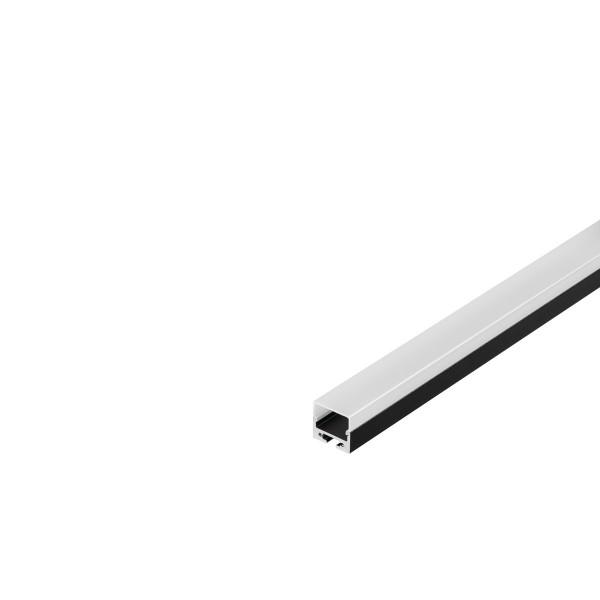 SLV 213430 Glenos 2020, Aufbauprofil, schwarz, B/H/L 2x2x100cm, LED Strips max.B.1,6cm