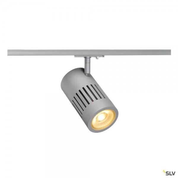 SLV 1000979 Structec, 1 Phasen, Strahler, silbergrau, LED, 28W, 3000K, 2650lm, 60°