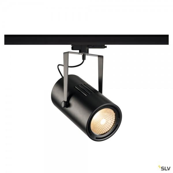 SLV 1002663 Euro Spot, 3Phasen, Strahler, schwarz, dimmbar Dali, LED, 47W, 3000K, 4800lm, 40°