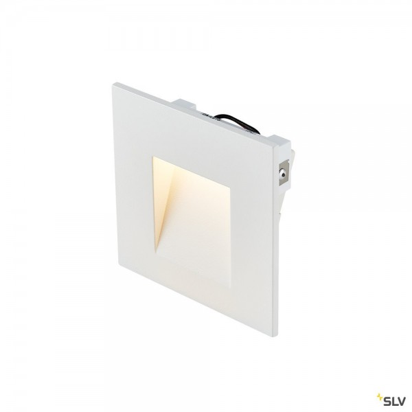 SLV 1002982 Mobala, Wandeinbauleuchte, weiß, LED, 1,3W, 3000K, 14lm
