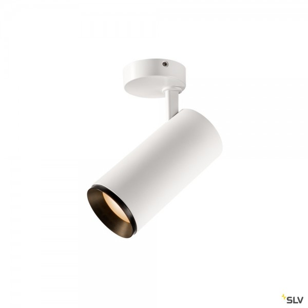 SLV 1004584 Numinos L, Strahler, weiß/schwarz, dimmbar Dali, LED, 28W, 2700K, 2475lm, 60°