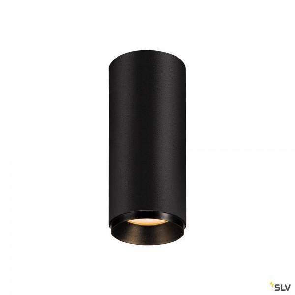 SLV 1004123 Numinos S, Deckenleuchte, schwarz, dimmbar C, LED, 10,42W, 2700K, 985lm, 36°