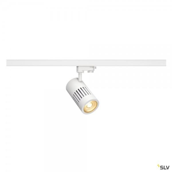 SLV 1000993 Structec, 3Phasen, Strahler, weiß, LED, 35W, 3000K, 3200lm, 36°