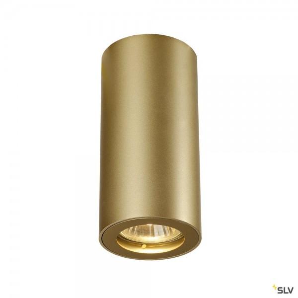 SLV 151813 Enola_B CL-1, Deckenleuchte, gold, QPAR51, GU10, max.35W
