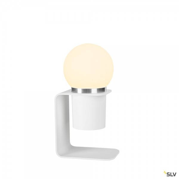 SLV 1002582 Tonila, mobile Akkuleuchte, weiß, 3 Stufen dimmbar, LED, 1,6W, 1,8W, 2700K, 80lm