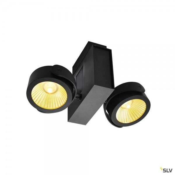 SLV 1001423 Tec Kalu, Strahler, schwarz, dimmbar C, LED, 31W, 3000K, 1900lm, 60°