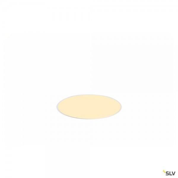 SLV 1001901 Medo 30, Deckeneinbauleuchte, weiß, LED, 14W, 3000K/4000K, 1600lm