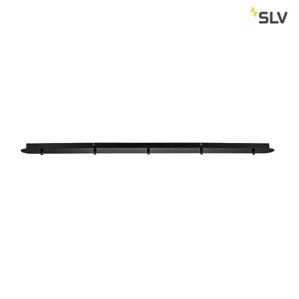 SLV 1001820 Fitu, Deckenrosette, schwarz, 5er